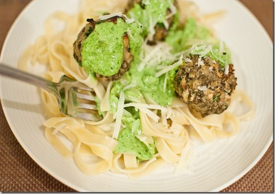"Lentil ""Meatballs"" with Lemon Basil Pesto. This has become a new ..."