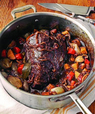 Individual Pot Roasts With Thyme-Glazed Carrots Recipes — Dishmaps