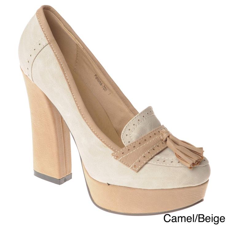 Womens loafer fetish