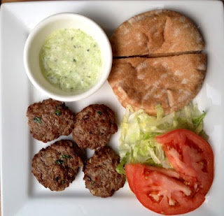 Mini Greek Burgers (15 mins or less) | Food & Party | Pinterest