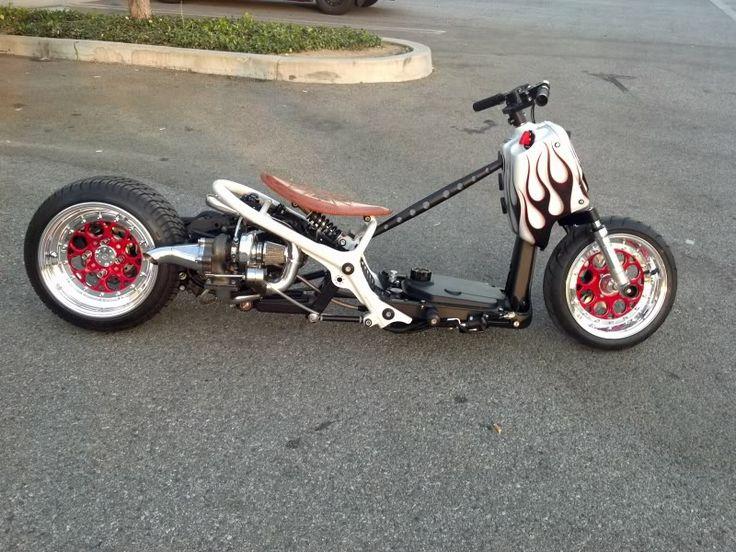 Moped Turbo Kit : Honda ruckus gy turbo kit