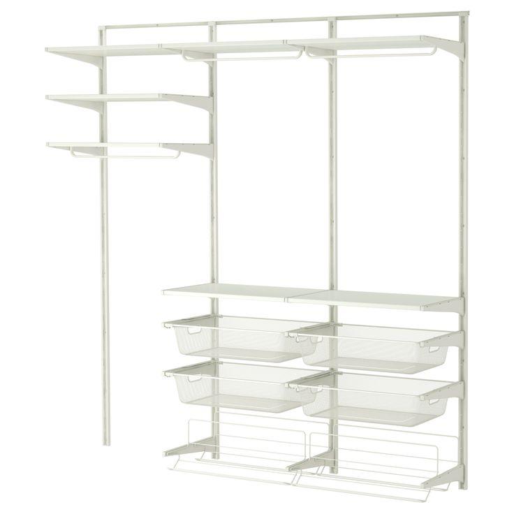 ALGOT Wandrail/stang/schoenenopberger - IKEA