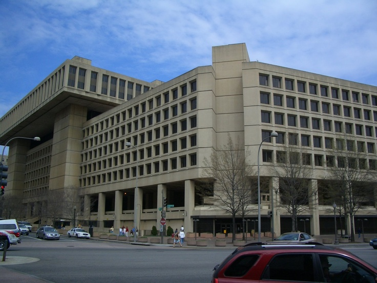 The Fbi Building Washington D C Pinterest