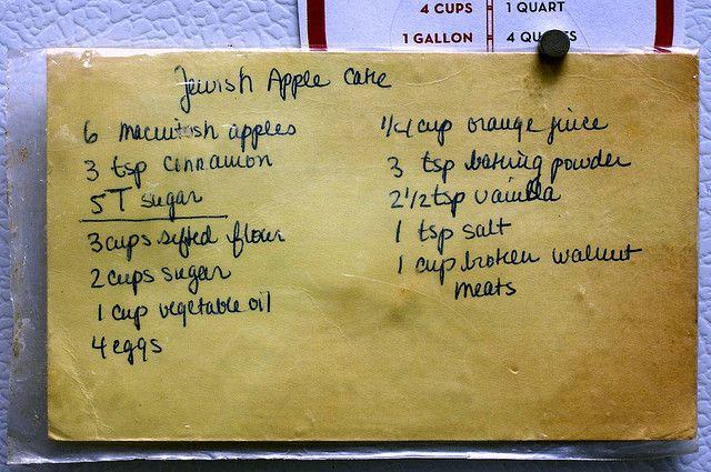 "mom's recipe by smitten, via Flickr   ""vintage recipes"" and som..."