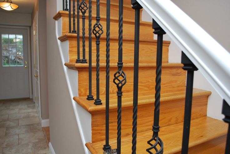 Best Wrought Iron Stair Balusters Stairs Pinterest 640 x 480