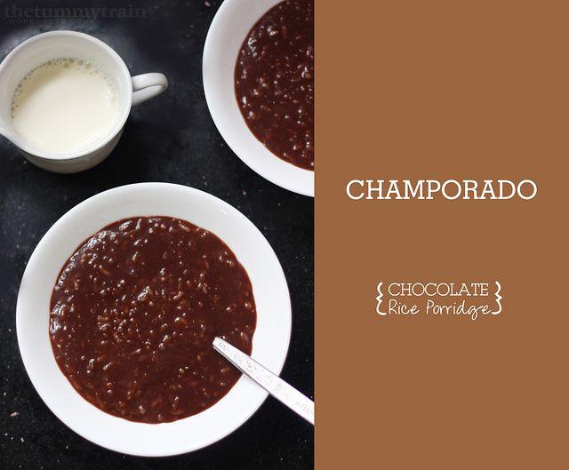 ... Champorado. Click for the recipe! :) #food #breakfast #Filipino #Pinoy