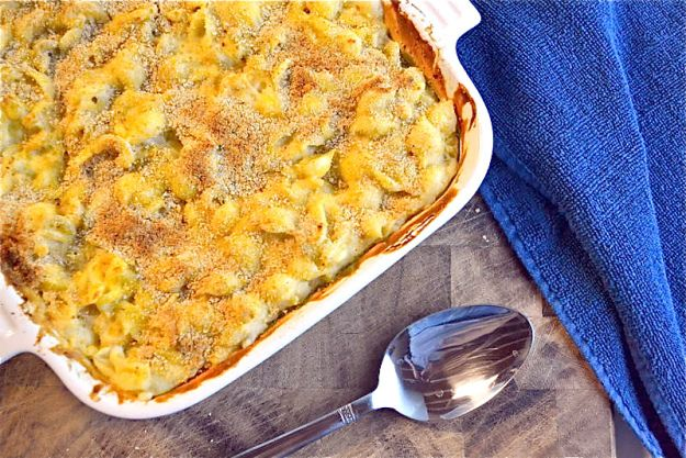 Creamy vegan baked mac and cheese | Healthy Eats | Pinterest
