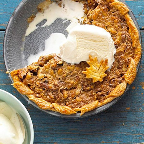 Maple-Nut Pie Recipe   Pies, Cakes and Puddings   Pinterest