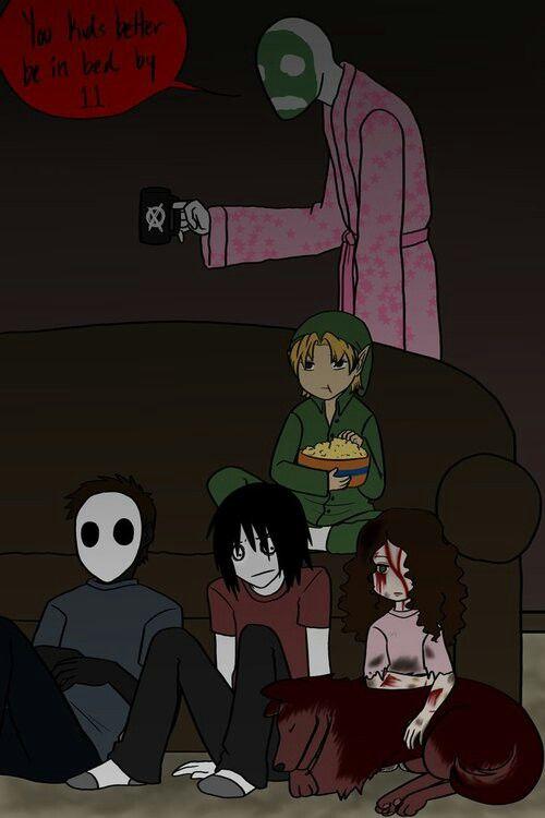 Creepypasta Family :3 | Scary Things | Pinterest