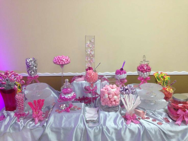 Snack table | Centerpieces party ideas | Pinterest