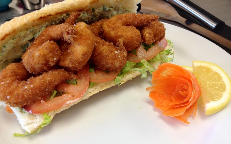 Shrimp Po' Boy with Remoulade sauce   Rockin' Good Food by Little Ol ...