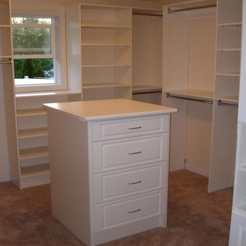 walk in closet island dresser new home pinterest