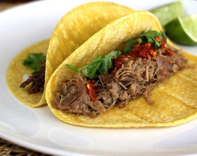 Recipe of the Week: Pork Carnitas Tacos | FOOD | Pinterest
