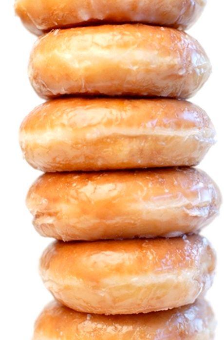 glazed donuts | breakfast foods | Pinterest