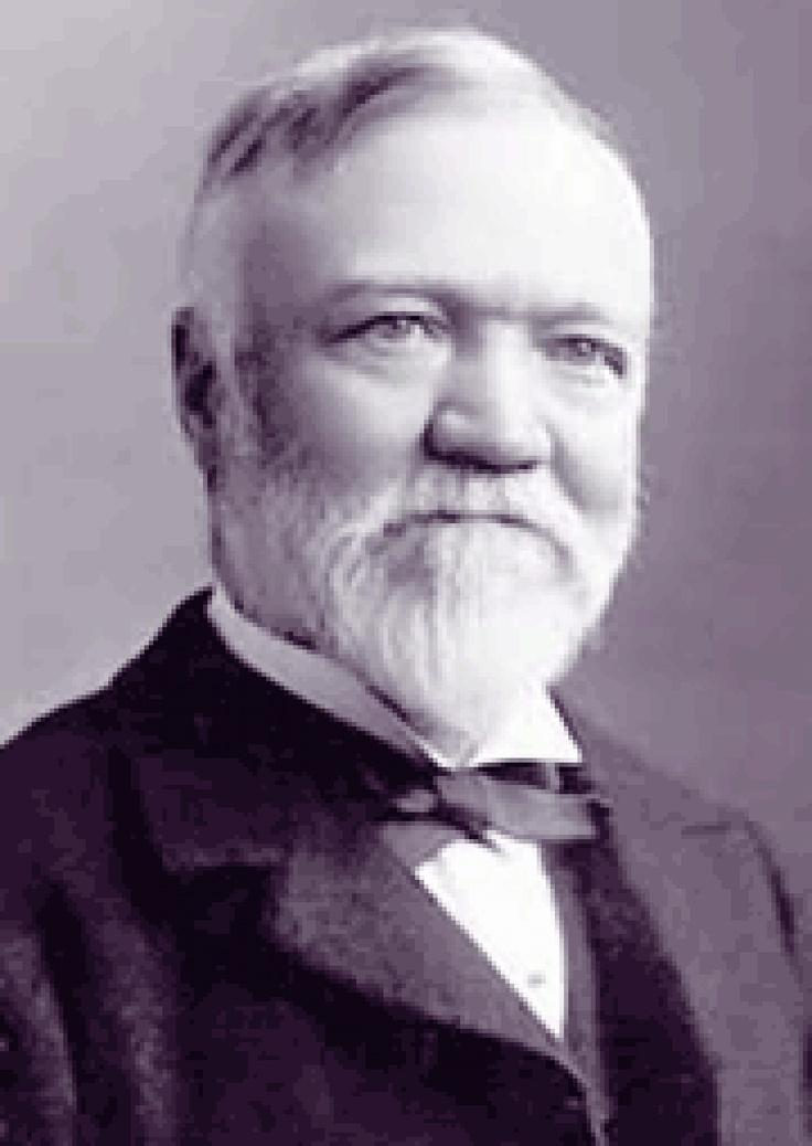 Andrew Carnegie Gospel of Wealth