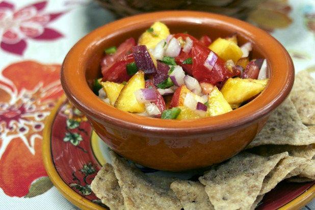 Summer Peach Salsa | Entertaining Tips & Ideas | Pinterest