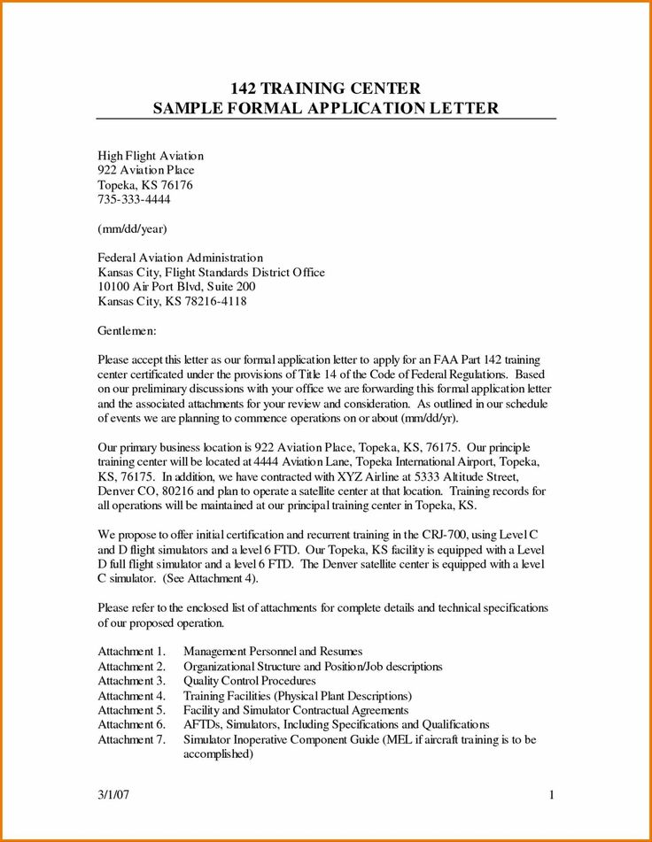 Sample of Job Application letter With Letter Writing Tips