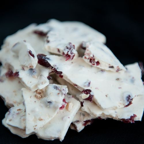 white chocolate cranberry almond-bark | Favorite Recipes | Pinterest