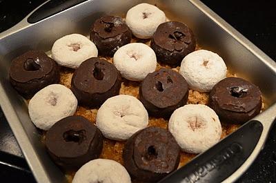 Doughnut Upside Down Cake | Food and Drink | Pinterest