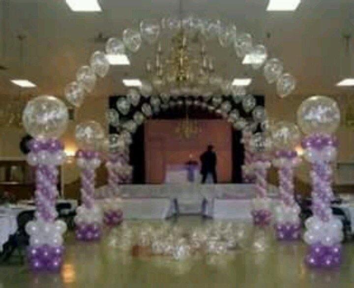 Pinterest for Balloon decoration ideas for quinceaneras