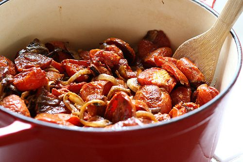 Soon-to-be Roasted Balsamic Tomato Sauce - Perry's Plate