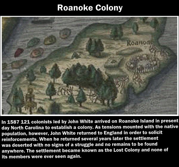mystery in the roanoke colony Roanoke, the lost colony has 157 ratings and 40 reviews carolynne said: when i was twelve my memorable eighth grade history teacher (miss sobolewski) to.