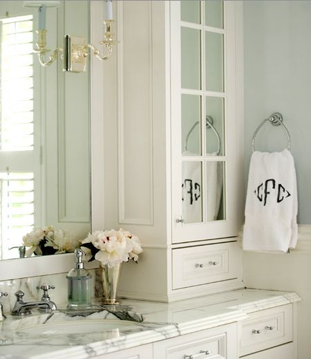 Lucite Bathroom Hardware - Traditional - bathroom - Morgan Harrison Home