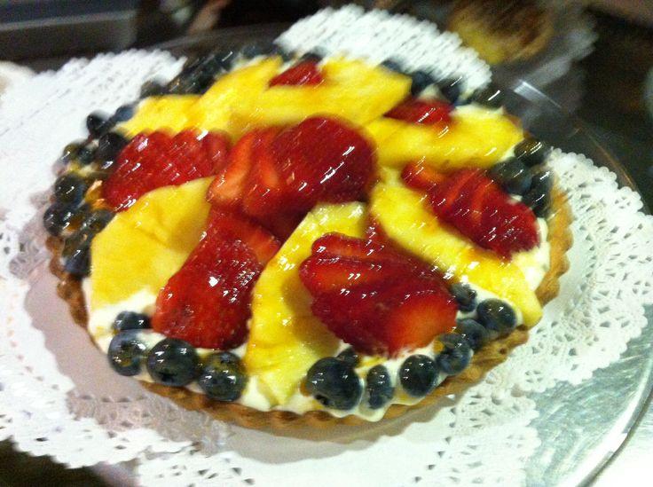 Lemon Mousse Fruit Tart | Suzanne's Signature Dishes | Pinterest