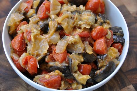 Spicy Eggplant Salad - Always on the look out for eggplant recipes ...