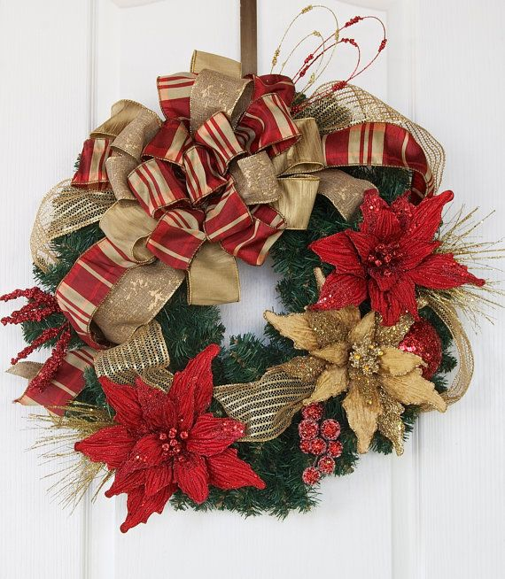 Christmas Wreath Elegant Christmas Wreath Holiday