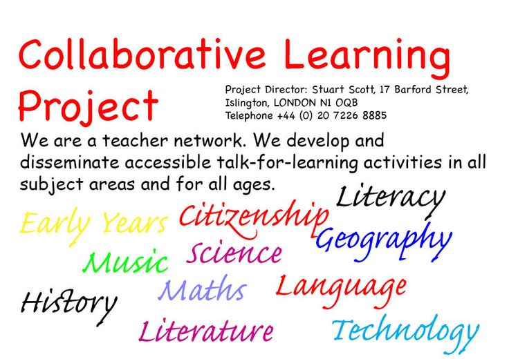 Collaborative Classroom Curriculum ~ Collaborative learning homepage science clil pinterest