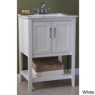 ceramic top 24 inch single sink bathroom vanity