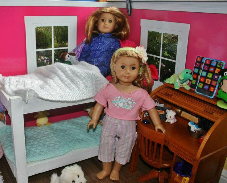 American girl doll room american girl club ideas pinterest - American girl bedroom ideas ...