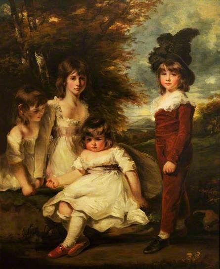 The Douglas Children (or 'Juvenile Retirement') by John Hoppner, 1795