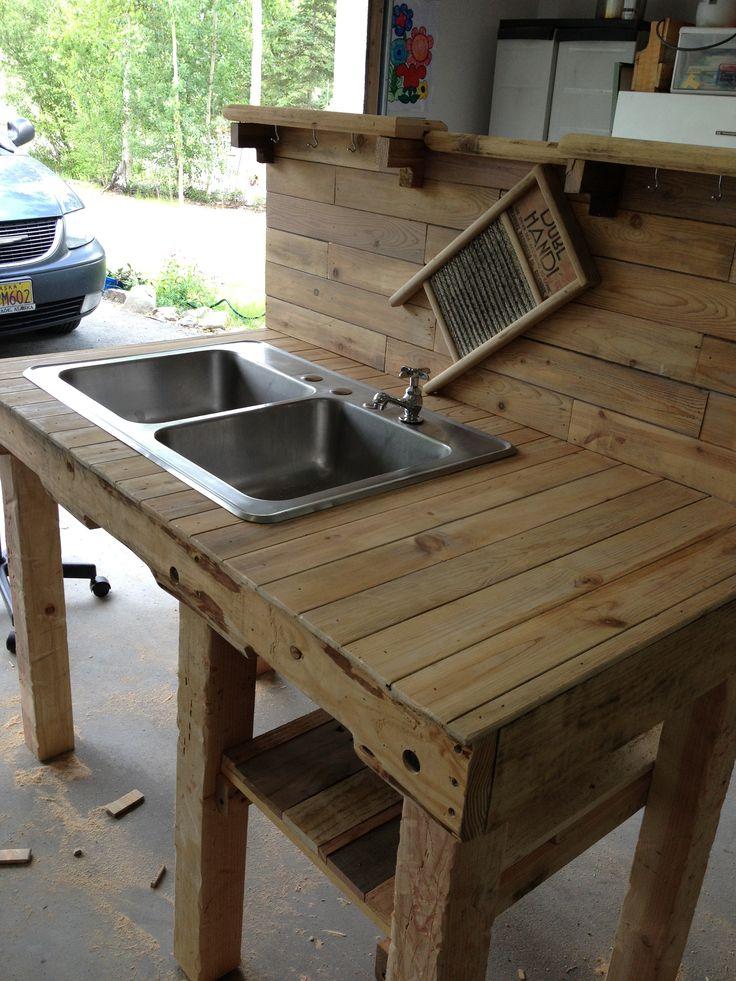 Outdoor sink. Outdoor Living/In the Garden Pinterest