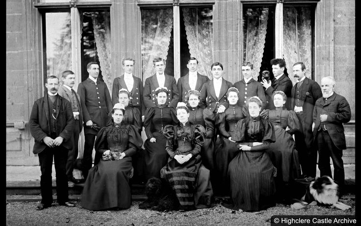 The Staff of Highclere Castle in Lady Almina's era