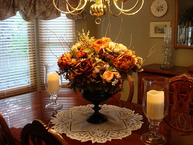 Dining Room Floral Arrangements Pictures to Pin on Pinterest ...
