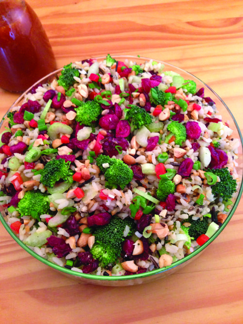 Wild Rice and Cranberry Salad | Food | Pinterest