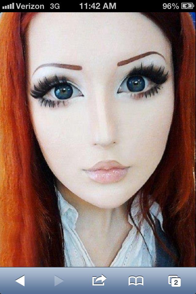 anime make up