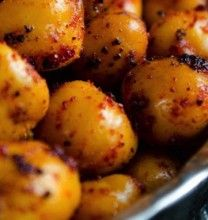 Crispy Spiced Chickpeas | yummy things | Pinterest