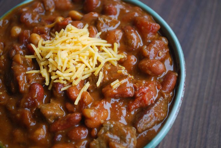 Steak and Three Bean Chili | beef. or wild meat. | Pinterest