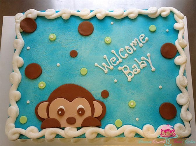 ... baby shower cake by Dream Crumb True Cakes - Cake Gallery - Akron, OH