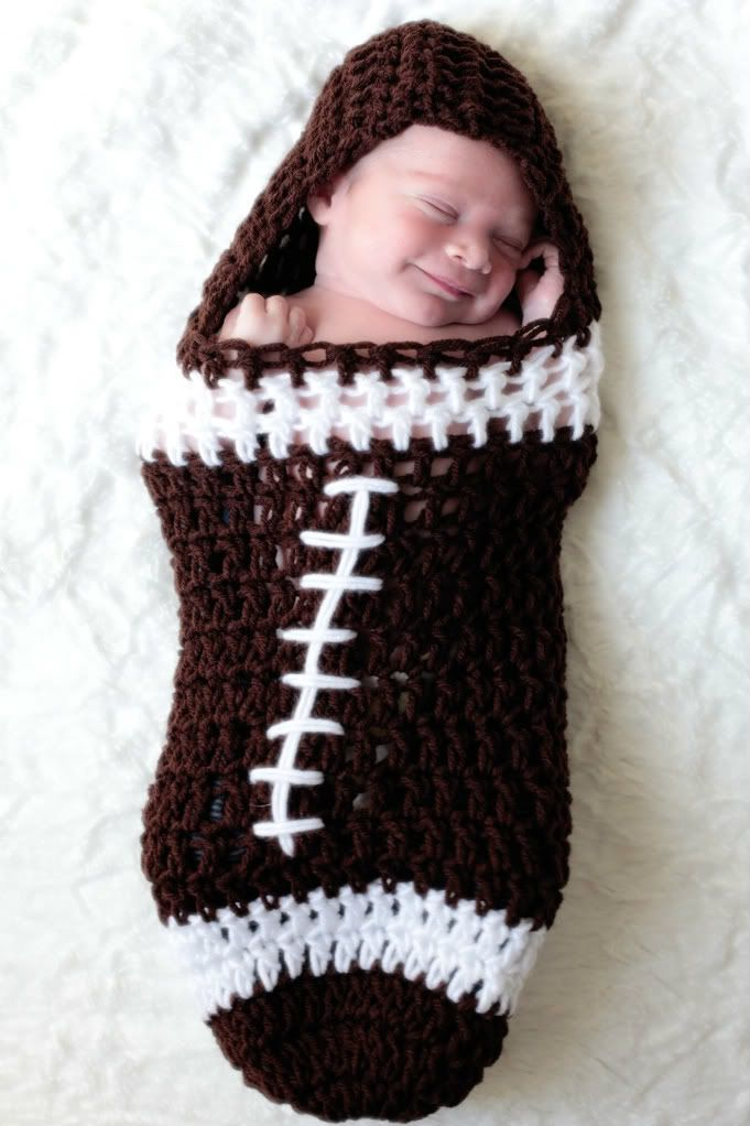 Unisex Hooded Football Cocoon Just Because I Like It ...