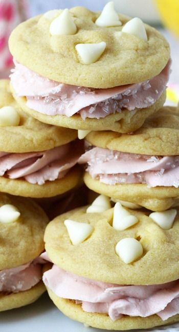 lemon raspberry cupcakes lemon raspberry ice cream sandwiches lemon ...