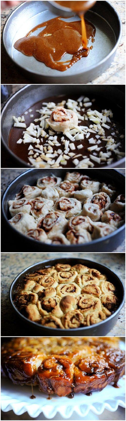 Caramel Apple Sticky Buns | Bake'n it | Pinterest