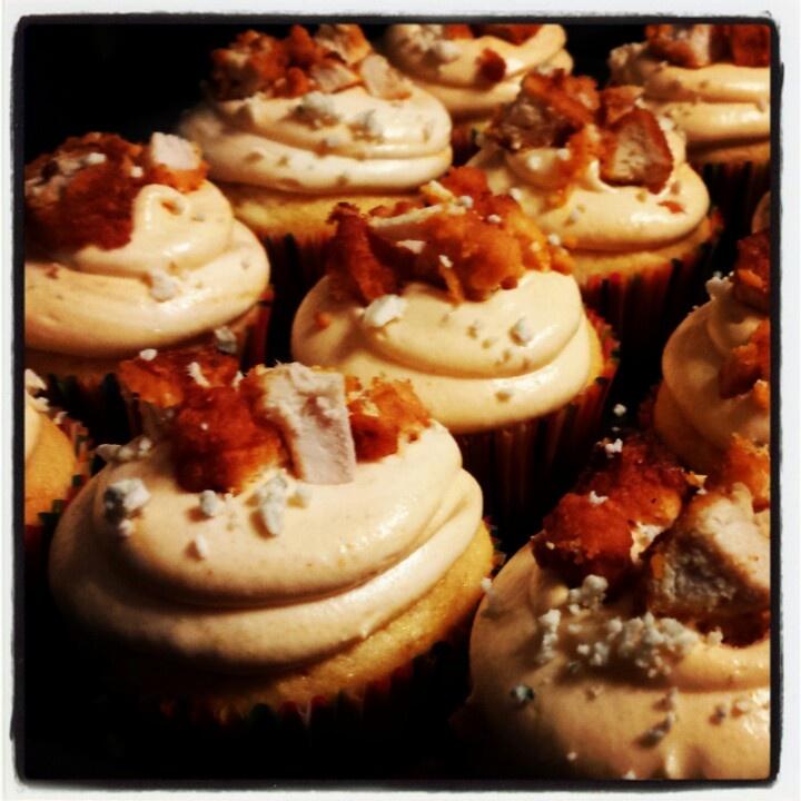 Buffalo Chicken Cupcakes | Yummy! | Pinterest