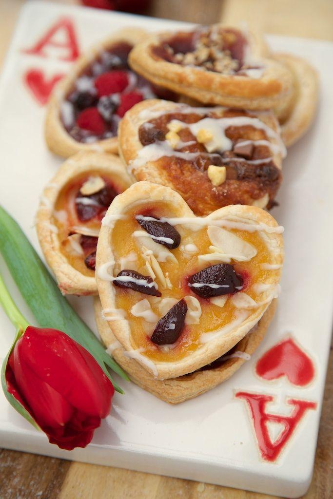 valentine's day nutella cookies