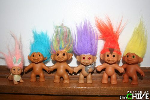 90s Troll Dolls 80s/90s childhood games, toys