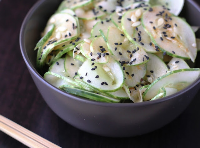 Spicy Sesame Cucumber Salad | Canning | Pinterest
