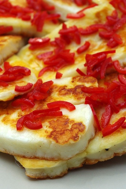 Halloumi with chilli by Sunday Chefs, via Flickr